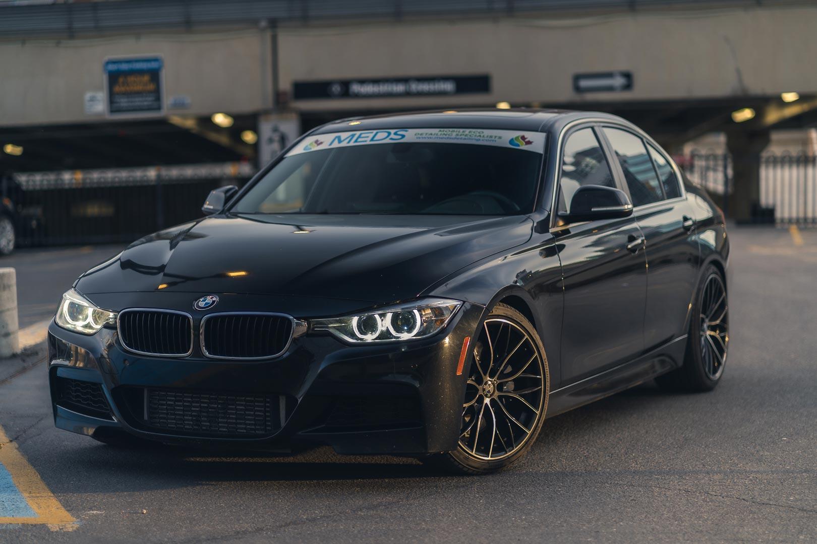 Detailed BMW with Meds detailing banner